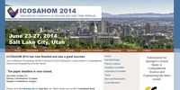 2014 International Conference on Spectral and High Order Methods