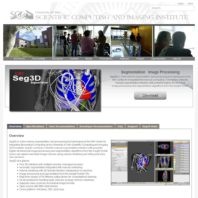 Seg3D Software page